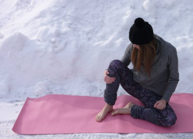 PopUp Yoga Classes, Snowga Yoga, Ottawa Canada, Yoga in the Snow, popup yoga, snowga