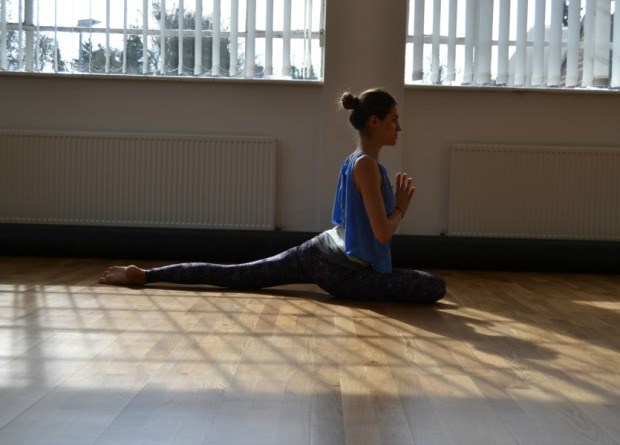 Pigeon Pose, Yoga, Yoga Class, Hertfordshire Yoga Classes, All Saints Studios, Ashtanga Vinyasa